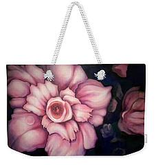 Night Blooms Weekender Tote Bag