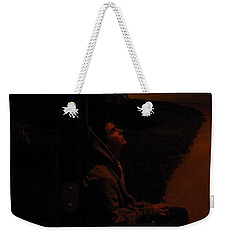 Night Boy Weekender Tote Bag