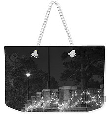 Night Bridge In December Weekender Tote Bag