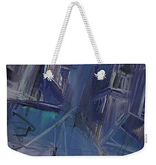 Night City Weekender Tote Bag