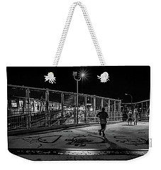 Night Commute  Weekender Tote Bag