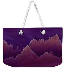 Night Weekender Tote Bag