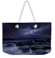 Night Enigma Weekender Tote Bag by Jorge Maia