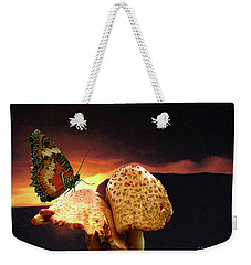 Weekender Tote Bag featuring the photograph Night Fall by Donna Brown