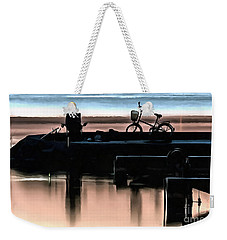 Night Fisherman Weekender Tote Bag