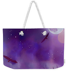 Night Flight Dream Weekender Tote Bag by Ken Frischkorn