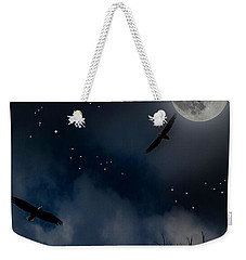 Night Flight Weekender Tote Bag by Ken Frischkorn