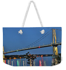 Night Flights Weekender Tote Bag