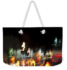 Night Forest - Light Spirits Limited Edition 1 Of 1 Weekender Tote Bag