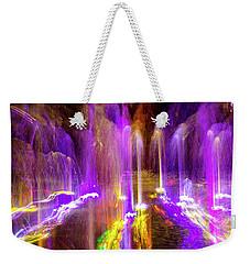 Night Fountain  Weekender Tote Bag