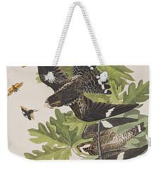 Night Hawk Weekender Tote Bag by John James Audubon