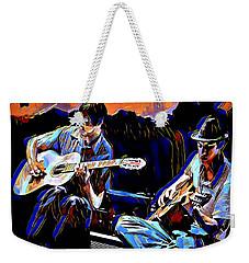 Night Jammin Weekender Tote Bag