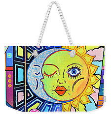 Night Kisses Daylight Weekender Tote Bag