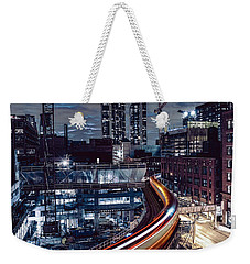 Night L Weekender Tote Bag