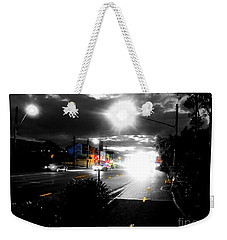 Night Lights And Ufos Weekender Tote Bag