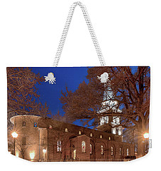Night Lights St Anne's In The Circle Weekender Tote Bag