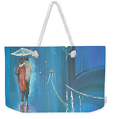 Night Love Walk Weekender Tote Bag