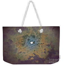 Night Moon Weekender Tote Bag