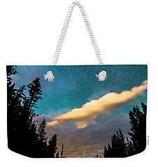 Weekender Tote Bag featuring the photograph Night Moves by James BO Insogna