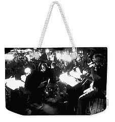 Night Music Weekender Tote Bag by Felipe Adan Lerma