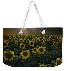 Weekender Tote Bag featuring the photograph Night Of A Billion Suns by Aaron J Groen