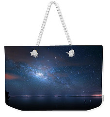 Weekender Tote Bag featuring the photograph Night Of The Milky Way by Mark Andrew Thomas