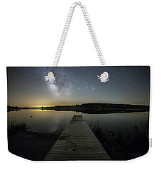 Night On The Dock Weekender Tote Bag by Aaron J Groen