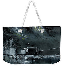 Night Out Weekender Tote Bag