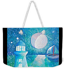 Night Out At Sea Weekender Tote Bag