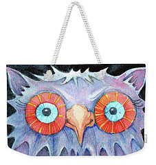 Night Owl Weekender Tote Bag