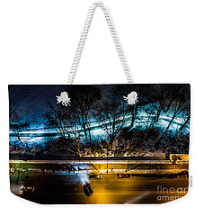 Weekender Tote Bag featuring the photograph Central Park by M G Whittingham