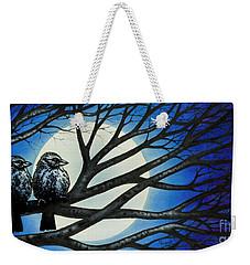 Night Perch Weekender Tote Bag
