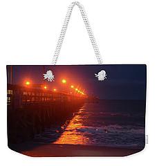 Night Pier Weekender Tote Bag