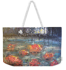 Night Pond Weekender Tote Bag