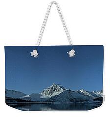Night Reflection Weekender Tote Bag