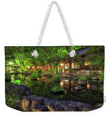 Night Reflections Weekender Tote Bag
