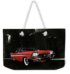 Night Ride Weekender Tote Bag