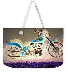Weekender Tote Bag featuring the photograph Night Rider by Joyce Dickens