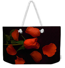 Night Rose 2 Weekender Tote Bag