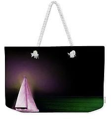 Night Sailing Weekender Tote Bag