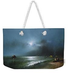 Night Sea Weekender Tote Bag by Igor Medvedev
