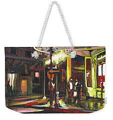Night Shift Weekender Tote Bag