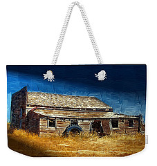 Weekender Tote Bag featuring the photograph Night Shift by Susan Kinney