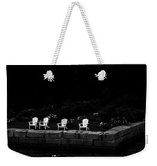 Weekender Tote Bag featuring the photograph Night Sitting by Richard Bean