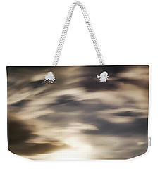 Weekender Tote Bag featuring the photograph Night Sky 1 by Leland D Howard