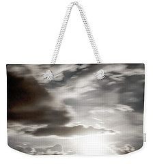 Weekender Tote Bag featuring the photograph Night Sky 5 by Leland D Howard