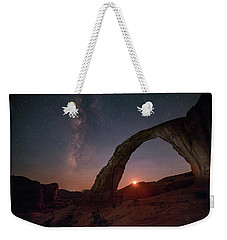 Night Sky At Corona Ach Weekender Tote Bag