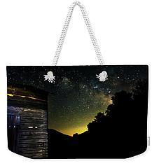 Night Sky At The Barn Weekender Tote Bag