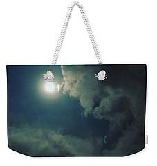 Looking At The Moon Weekender Tote Bag