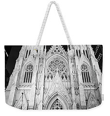 Night St Patrick's Cathedral  Weekender Tote Bag